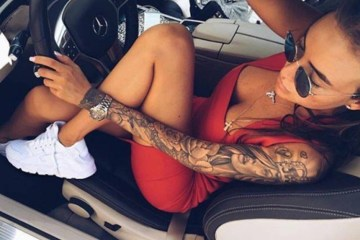 This Is Why I Love Badchix With Tattoos 1