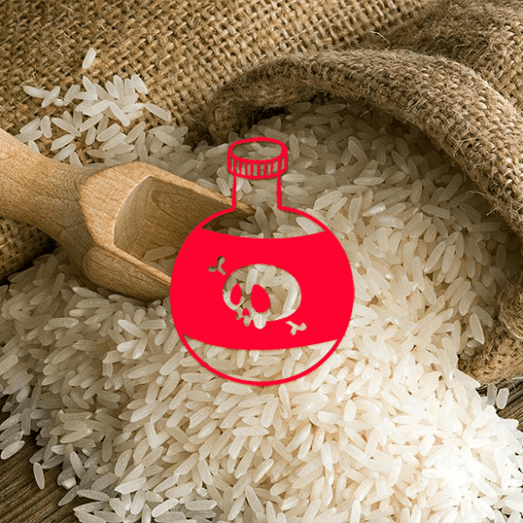 Rice Factory in Asia is Mixing Toxic Plastic into Their Rice to Cut Costs