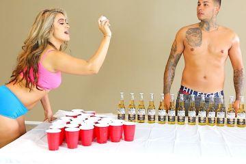 Strip Beer Pong Challenge