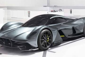 The Aston Martin Valkyrie