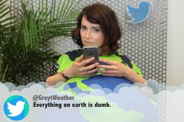 In honor of Earth Day April 22nd, we got the Mother Earth and endangered animals to read mean tweets about them.
