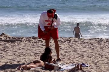 The Bad Ass Life Guard Prank