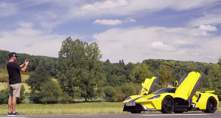Ken Block Test Drives The Ford Gt