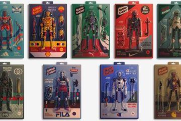 Dexter Maurer illustrates nice toys by brands
