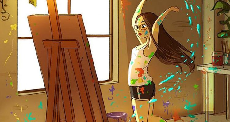 The Happiness Of Living Alone Illustrated by Yaoyao Ma Van As (35 Photos)