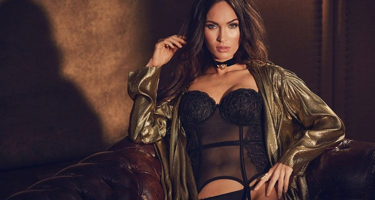 Megan fox lingerie shoot