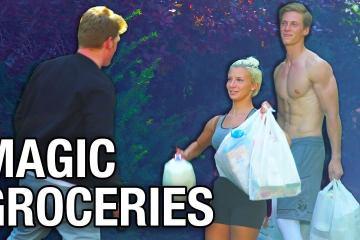 Stuart Edge Made This Epic Magic Groceries Trick