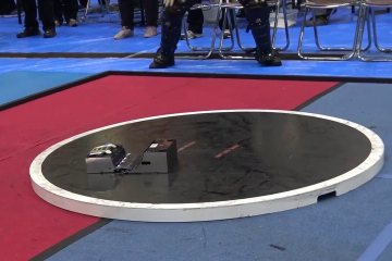 These Sumo Bots are probably the most intense thing you'll see Today