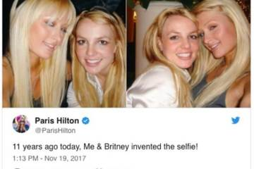 Paris Hilton Claims She and Britney Spears Invented The Selfie But Internet Proves Her Wrong (21 Photos) 1