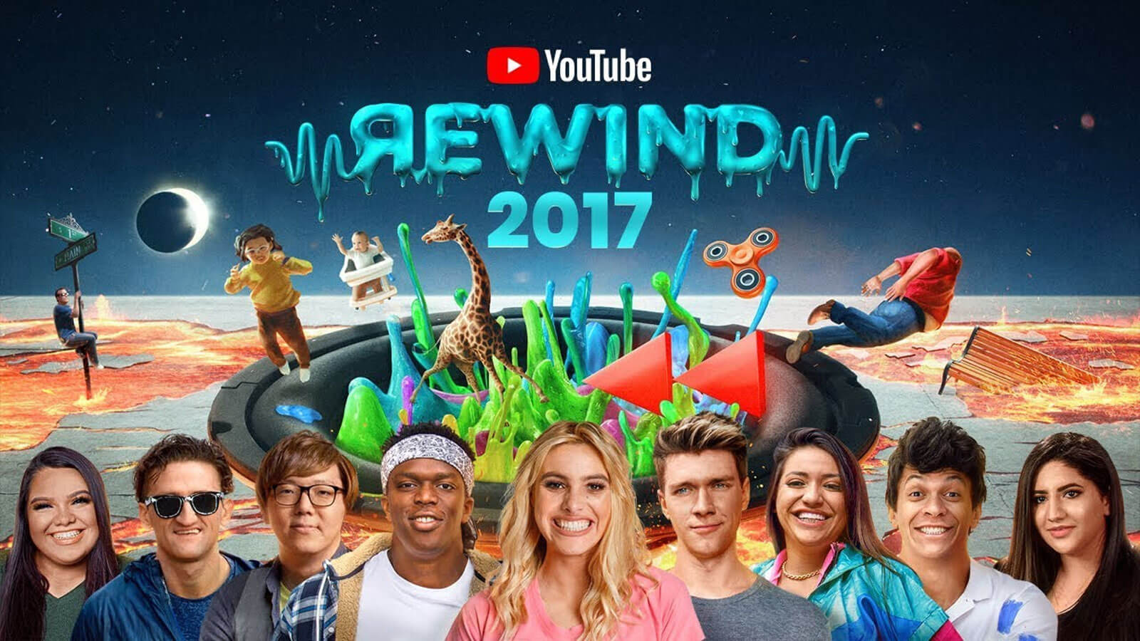 YouTube Rewind: The Shape of 2017 2