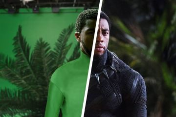 Amazing before & after CGI