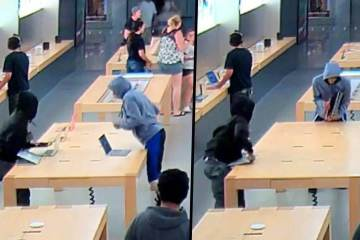 Flash Mob Theft ($27,000 worth of Apple Products Stolen) 1