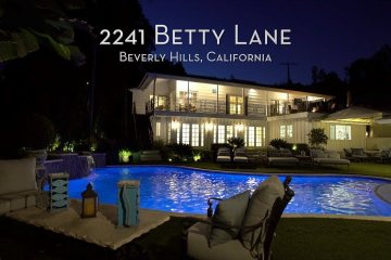 Beverly Hills Home at 2241 Betty Lane For Sale - $ 4 Million Dollar 1