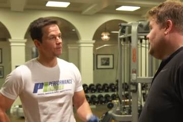 James Joins Mark Wahlberg's 4am Workout Club 1