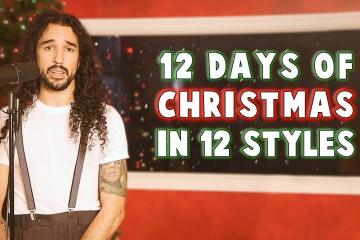 12 Days of Christmas in 12 Styles 1