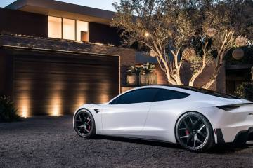 The Sound of the New Tesla Roadster 1