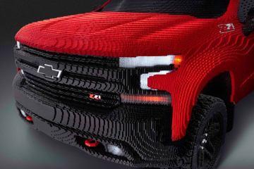 Full-Size LEGO® Silverado Chevrolet