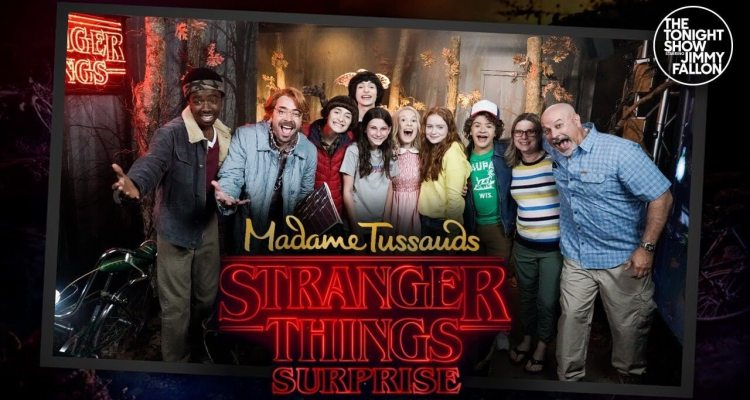 Madame Tussauds Wax Museum with Stranger Things 1