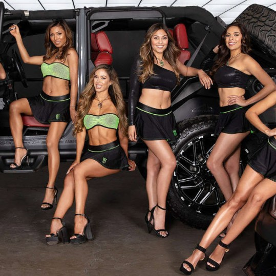 BTS of the Monster Energy Girls 1