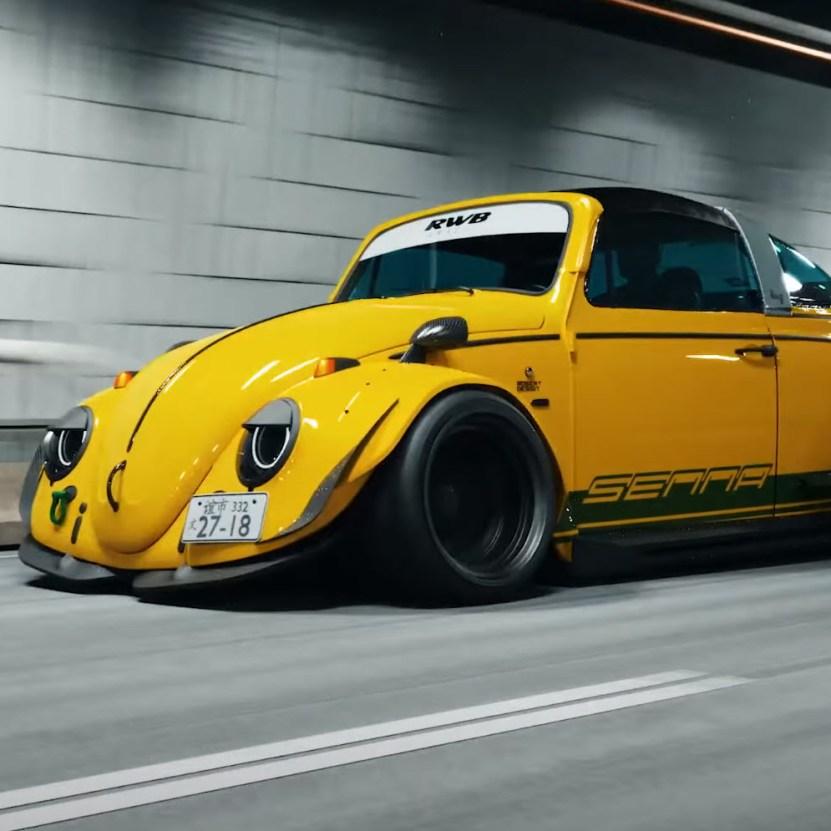 Volkswagen BUG RWB Targa