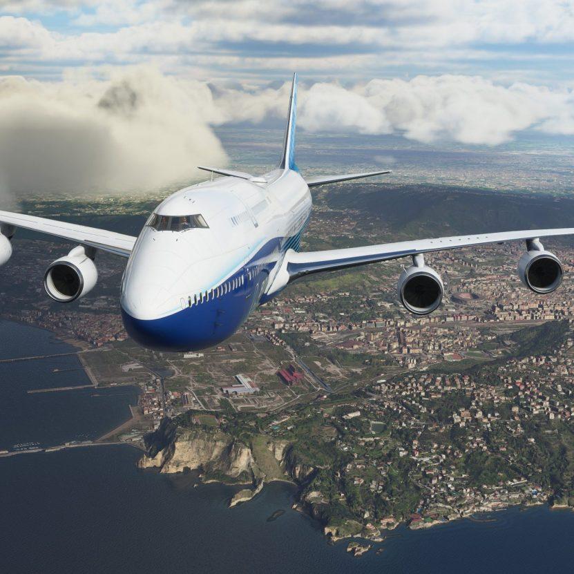 Microsoft Flight Simulator update cuts game size in half