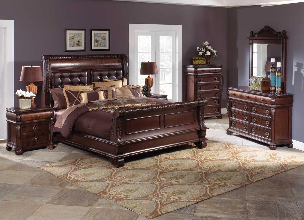 sophia 5 piece queen bedroom set