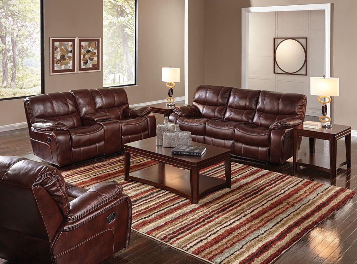 Hamilton Ii Burgundy 3 Piece Livingroom Group