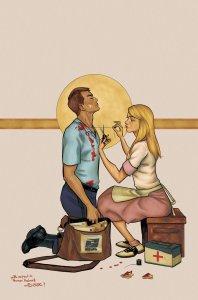 Postal #10, variant cover di Isaac Goodhart