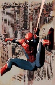 Amazing Spider-Man #1.3, copertina variant di Leinil Yu