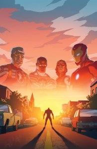 Avengers Standoff: Welcome to Pleasant Hill #1, copertina di Mark Bagley