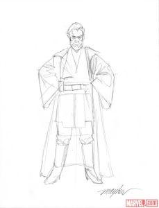 Mike Mayhew sketch 2