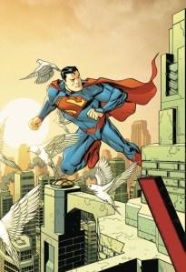 Superman #50, copertina variant di Dave Johnson