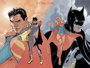 Superman #50/Batman #50, copertina connecting variant di Terry Dodson