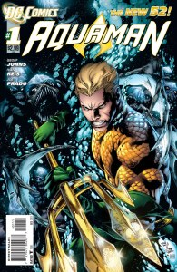 Aquaman #1, copertina di Ivan Reis