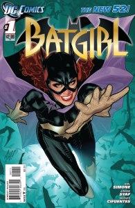 Batgirl #1, copertina di Adam Hughes