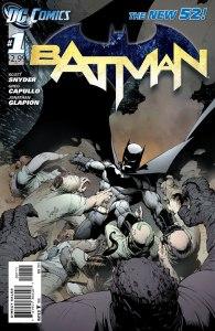 Batman #1, copertina di Greg Capullo