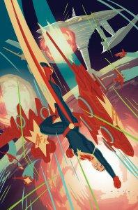 Captain Marvel #4, copertina di Kris Anka
