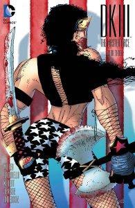 Dark Knight III #3, variant cover di Frank Miller