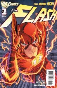 Flash #1, copertina di Francis Manapul