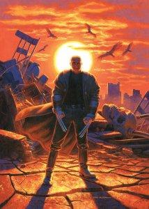 Old Man Logan #5, variant cover di Greg Hildebrandt