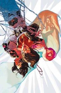 Spider-Women Alpha #1, copertina di Yasmine Putri