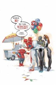 Web Warriors #6, copertina di Julian Totino Tedesco