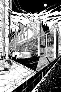 Legends of Tomorrow #1, anteprima 01 b/n
