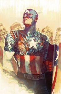 Captain America: Steve Rogers #3, variant cover di Stephanie Hans