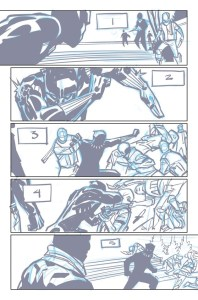 Black Panther #1, schizzi di Brian Stelfreeze #1