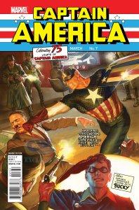 Captain America: Sam Wilson #7, variant cover di Alex Ross