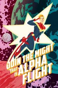 Captain Marvel #5, copertina di Kris Anka