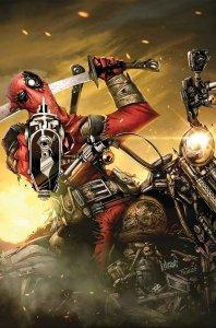 Deadpool: Masacre #1, copertina di Francisco Herrera