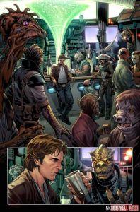 Han Solo #1, anteprima 1