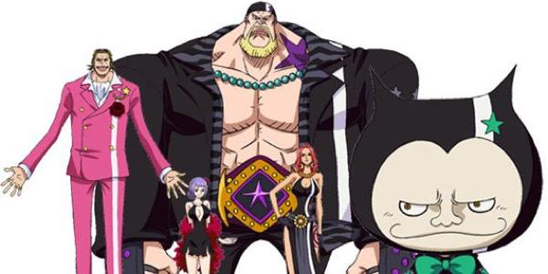 One Piece Gold - I personaggi inediti ico